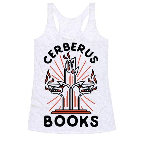 Cerberus Books Racerback Tank Top