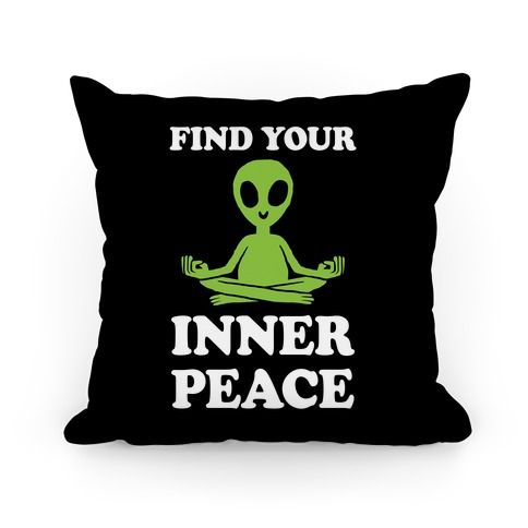 Find Your Inner Peace Pillow