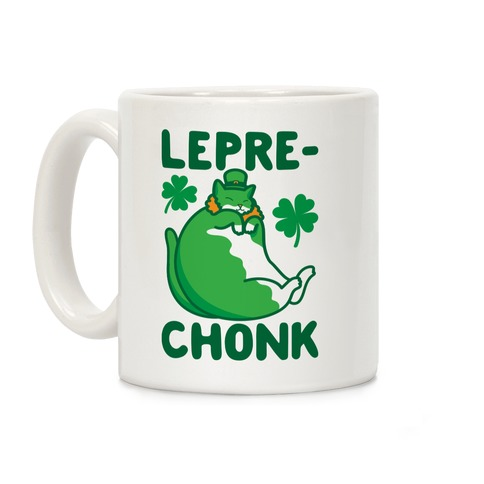 LepreCHONK Cat Coffee Mug