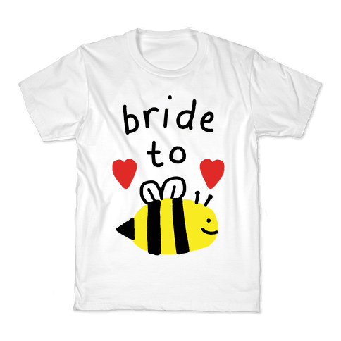 Bride To Bee Kids T-Shirt