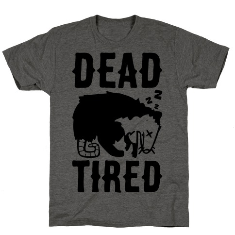 Dead Tired Possum Parody T-Shirt