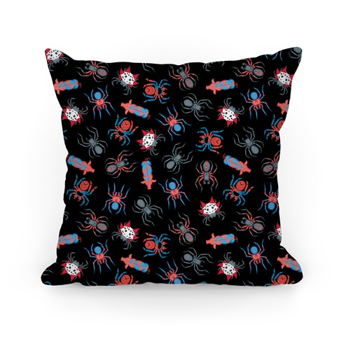 Into the spiderverse pattern Pillow