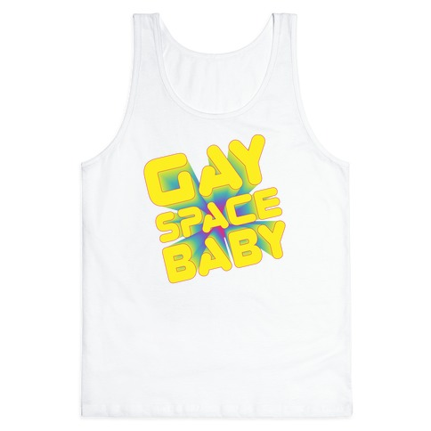 Gay Space Baby Tank Top
