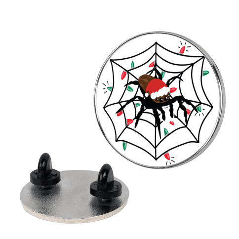 Have a Creepy Crawly Christmas Pin