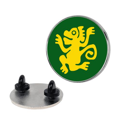 Green Monkeys Pin