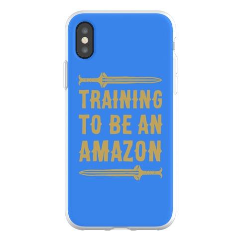 Training To Be An Amazon Parody Phone Flexi-Case