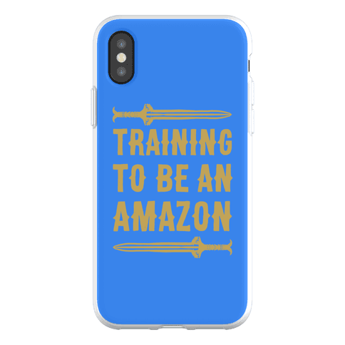 Training To Be An Amazon Parody Phone Flexi-Case