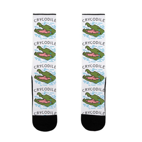Crycodile Crocodile Sock