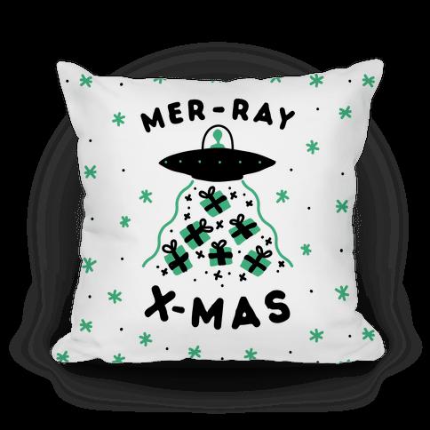 Mer-RAY X-mas Pillow