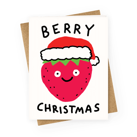 Berry Christmas Greeting Card