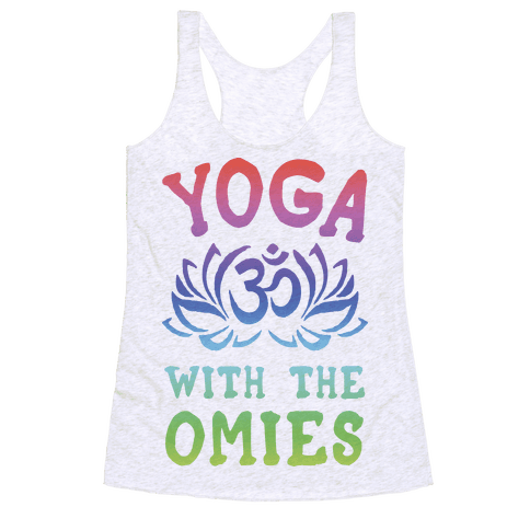 Yoga With The Omies Racerback Tank Top