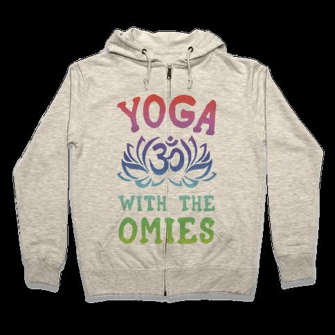 Yoga With The Omies Zip Hoodie