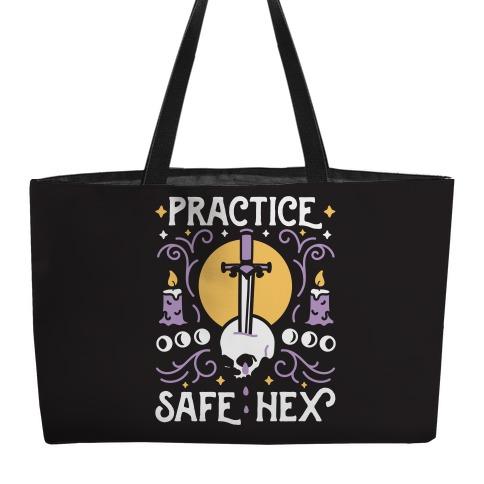 Practice Safe Hex Weekender Tote