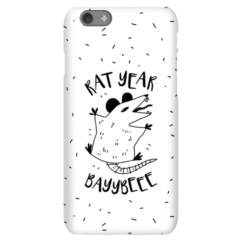Rat Year BAYYBEEE! Phone Case