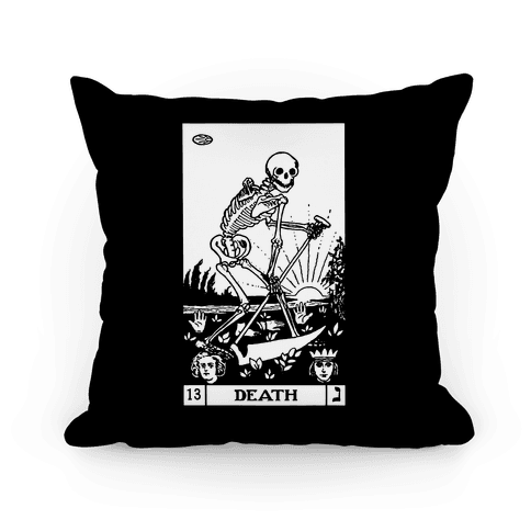 Death Tarot Pillow
