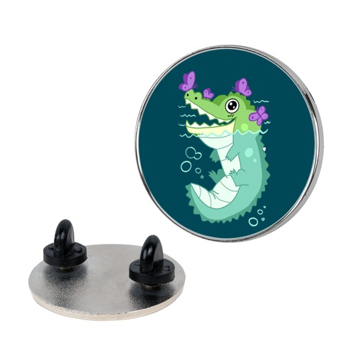 Butterfly Gator Pin