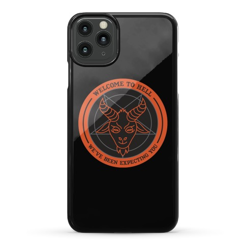 Welcome To Hell Tourism Phone Case