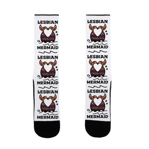 Lesbian Mermaid Sock