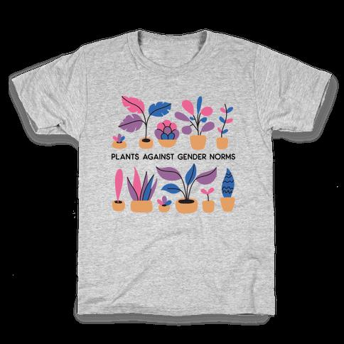 Plants Against Gender Norms Kids T-Shirt