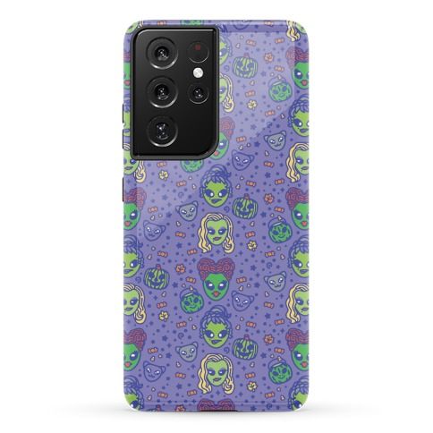 Witch Alien Sisters Parody Phone Case