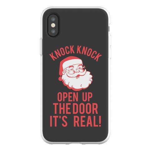 Knock Knock Santa Phone Flexi-Case