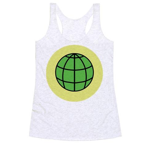 EARTH! Racerback Tank Top