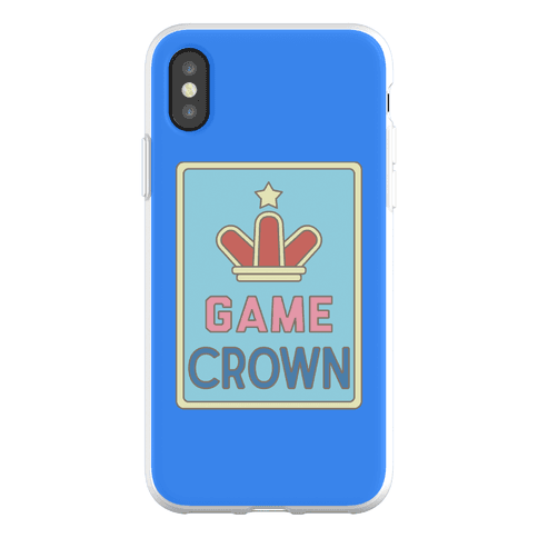 Game Crown Phone Flexi-Case