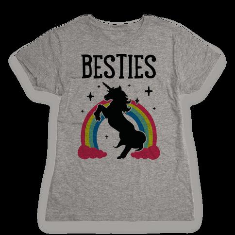 Magical Besties 2 (cmyk) Womens T-Shirt