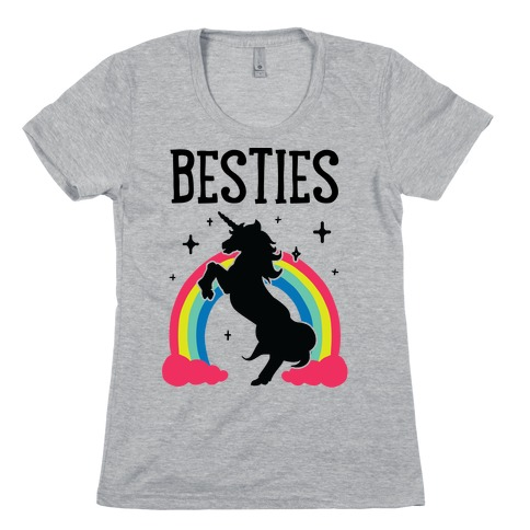 Magical Besties 2 (cmyk) Womens T-Shirt