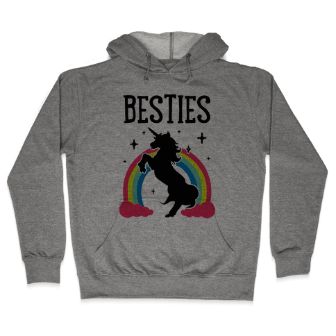 Magical Besties 2 (cmyk) Hooded Sweatshirt