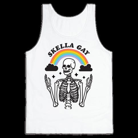 Skella Gay Skeleton Tank Top