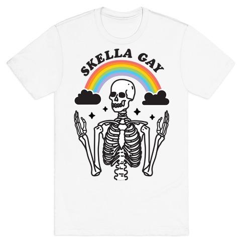 Skella Gay Skeleton T-Shirt