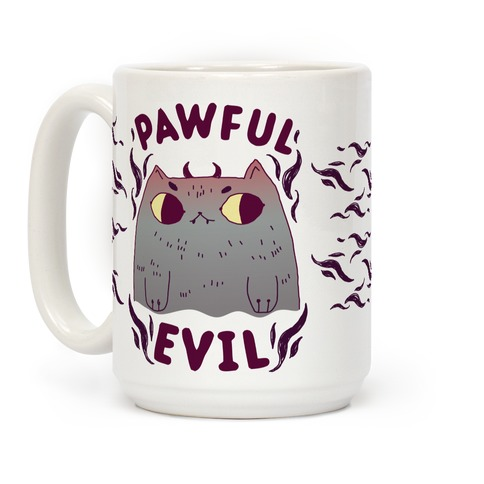 Pawful Evil Coffee Mug