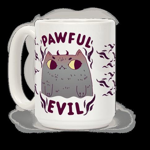 Pawful Evil Coffee Mug