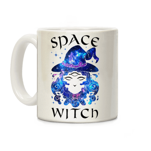 Space Witch Coffee Mug