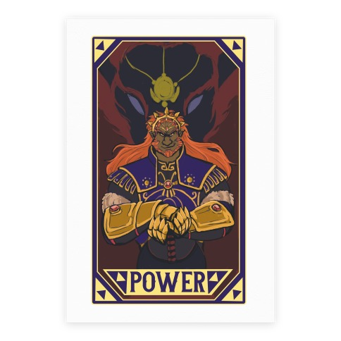 Power - Ganondorf Poster