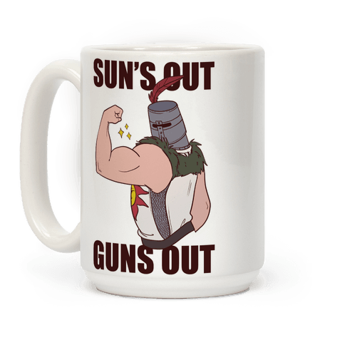 Sun's Out, Guns Out - Solaire  Coffee Mug