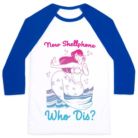 New Shellphone, Who Dis Baseball Tee
