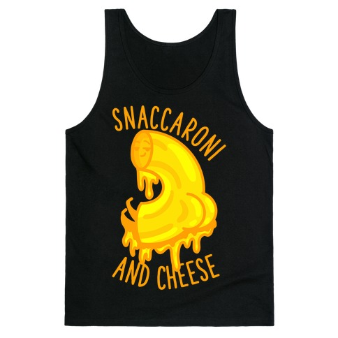 Snaccaroni and Cheese Tank Top