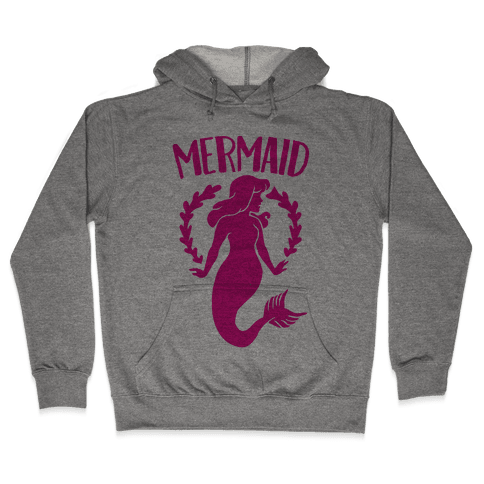 Mermaid Sisters (Pink) Hooded Sweatshirt
