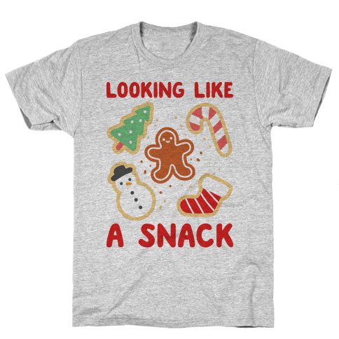 Looking Like A Snack Christmas Cookies Mens T-Shirt