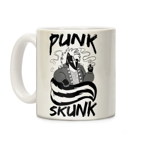 Punk Skunk Coffee Mug