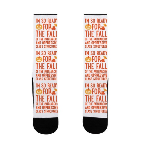 I'm So Ready For The Fall Sock