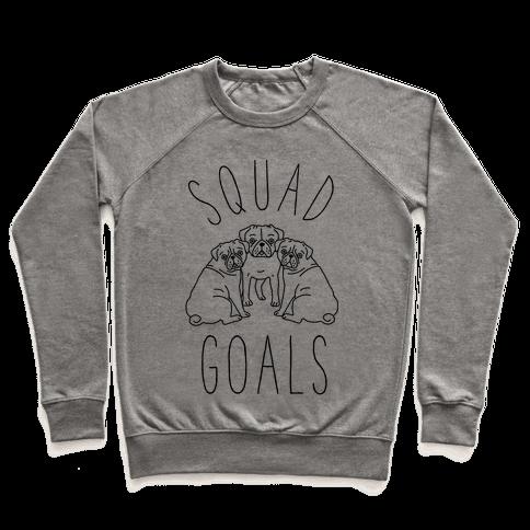 Squad Goals Pugs Pullover
