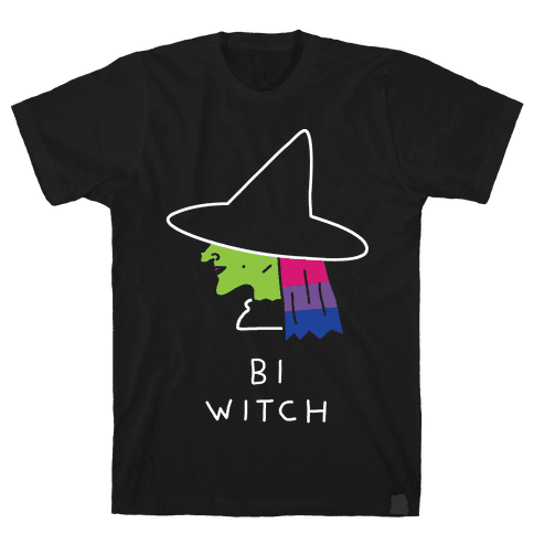 Bi Witch Mens T-Shirt
