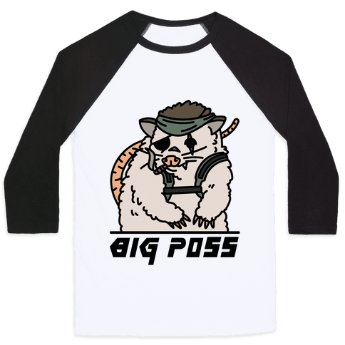 Big Poss Baseball Tee
