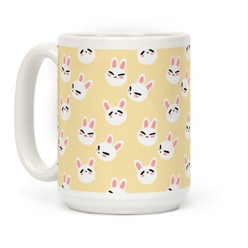 BunBun Pattern Coffee Mug