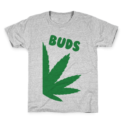 Best Buds Couples (Buds)  Kids T-Shirt