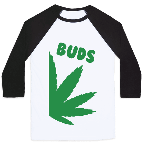 Best Buds Couples (Buds)  Baseball Tee