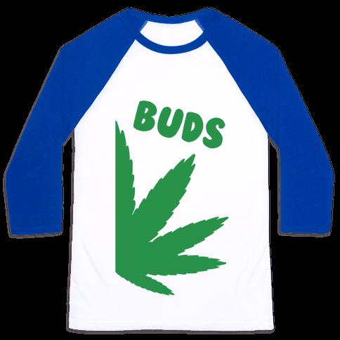 Best Buds Couples (Buds)  Baseball Tee